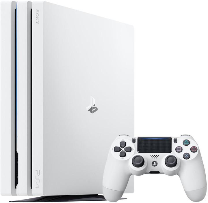 PlayStation 4 Pro, 1TB, bílá