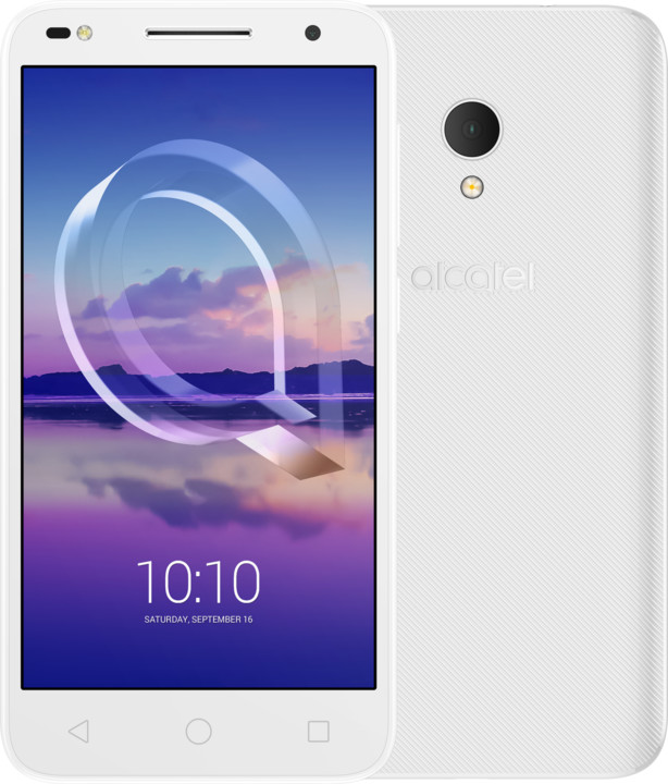 ALCATEL U5 HD 5047D, 1GB/8GB, bílá