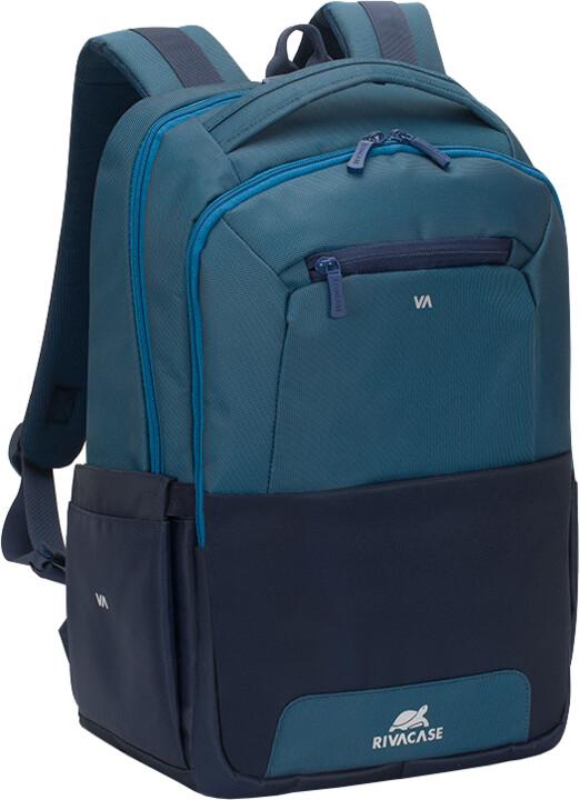 "RivaCase Suzuka 7767 batoh na notebook 15,6"", modrá"
