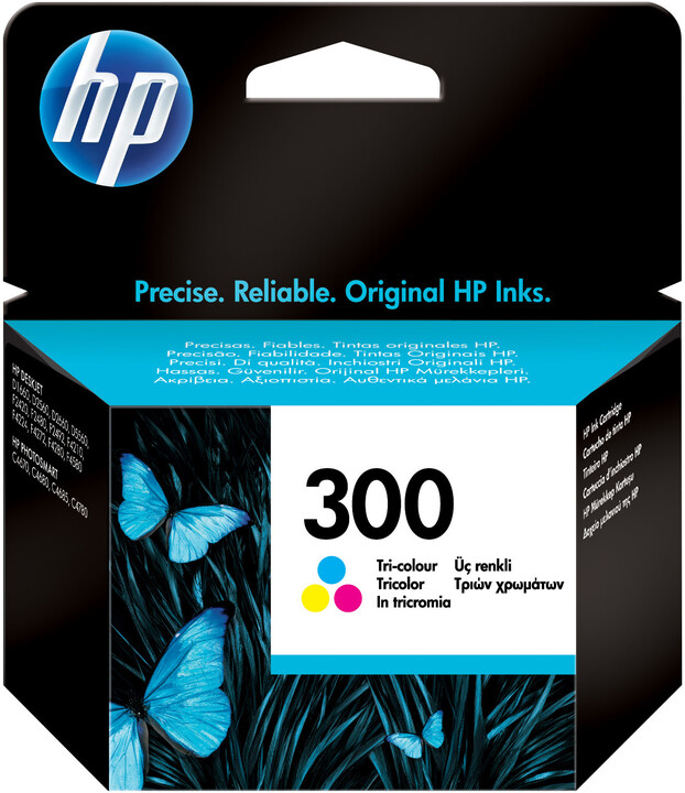 HP CC643EE, no.300, barevná