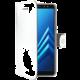 CELLY Wally pouzdro typu kniha pro Samsung Galaxy A8 Plus (2018), PU kůže, bílé