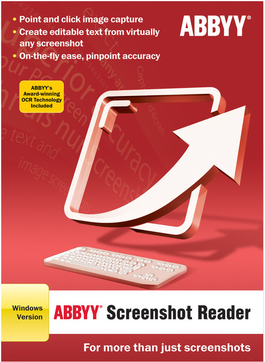 ABBYY Screenshot Reader / ESD / CZ