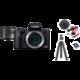 Canon EOS M50 Mark II, černá - Vlogger Kit Získejte zpět 800 Kč po registraci + O2 TV Sport Pack na 3 měsíce (max. 1x na objednávku)