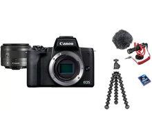 Canon EOS M50 Mark II, černá - Vlogger Kit - 4728C048