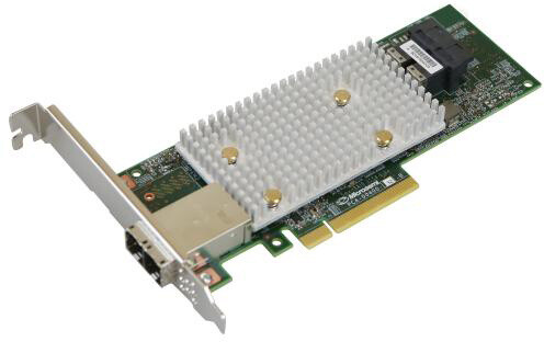 Microsemi Adaptec řadič SmartRAID 3154-8i8e Single, 12Gbps SAS/SATA, 8 portů int., 8 portů ext., 4GB