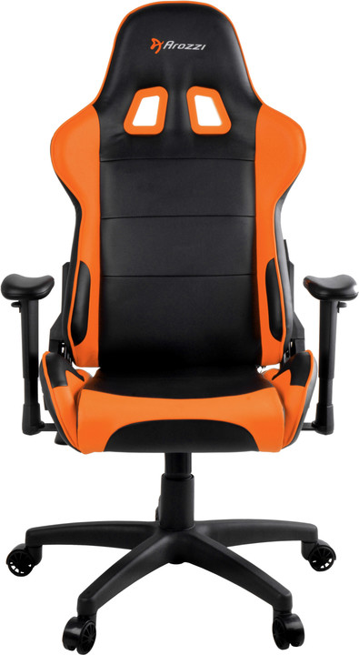 Arozzi Verona V2, černá/oranžová