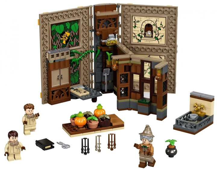LEGO® Harry Potter 76384 Kouzelné momenty z Bradavic: Hodina bylinkářství