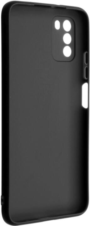 FIXED pogumovaný kryt Story pro Xiaomi Poco M3, černá