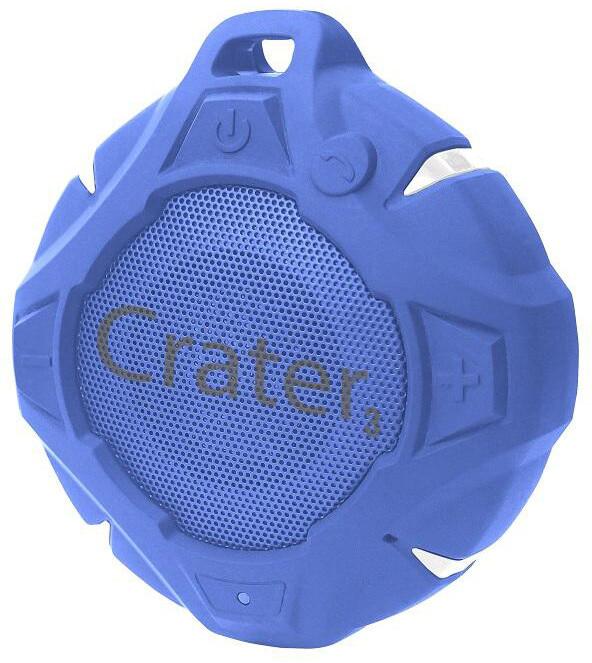 Orava Crater 3, přenosné, bezdrátové, modrá