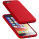 CellularLine ochranný silikonový kryt SENSATION pro iPhone 8/7, červený