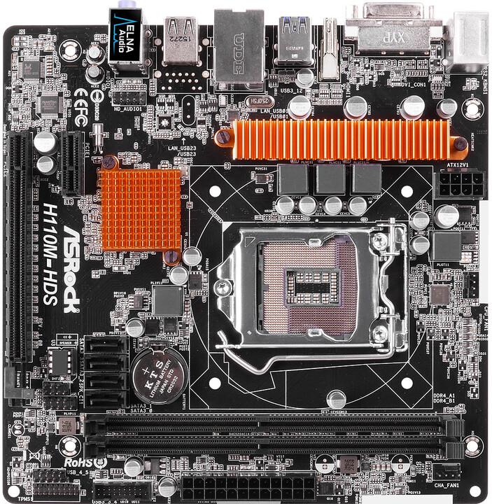 ASRock H110M-HDS - Intel H110