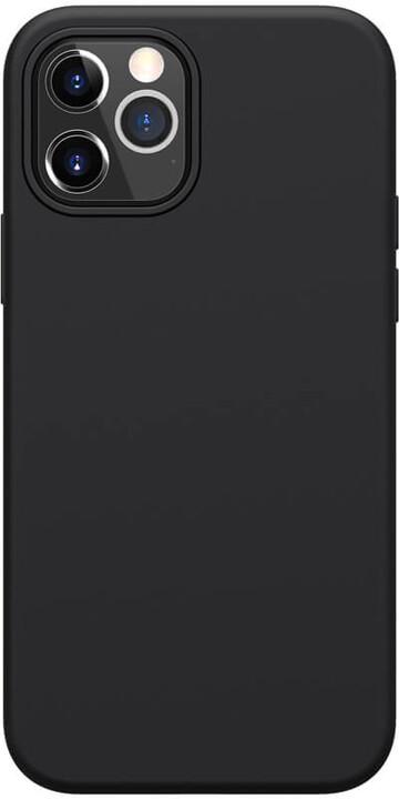 "Nillkin silikonové pouzdro Flex Pure Liquid pro iPhone 12/ 12 Pro (6.1""), černá"