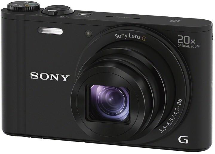 Sony Cybershot DSC-WX350, černá