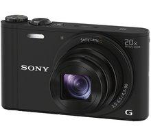 Sony Cybershot DSC-WX350, černá - DSCWX350B.CE3