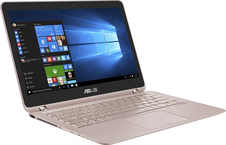 ASUS ZenBook Flip UX360UA, růžově zlatá