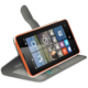 CELLY Wally pouzdro pro Microsoft Lumia 532, PU kůže, bílá