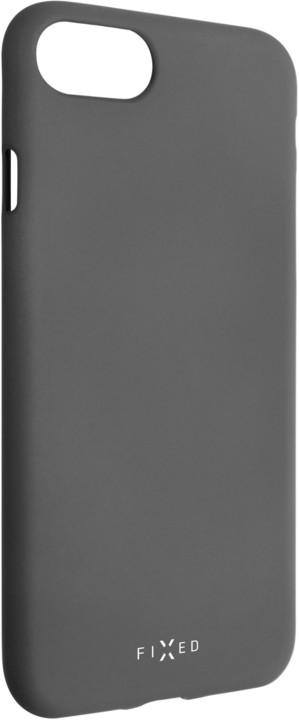 FIXED zadní silikonový kryt Story pro Huawei P20 Lite, šedá