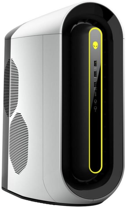 Dell Alienware Aurora R10, stříbrná