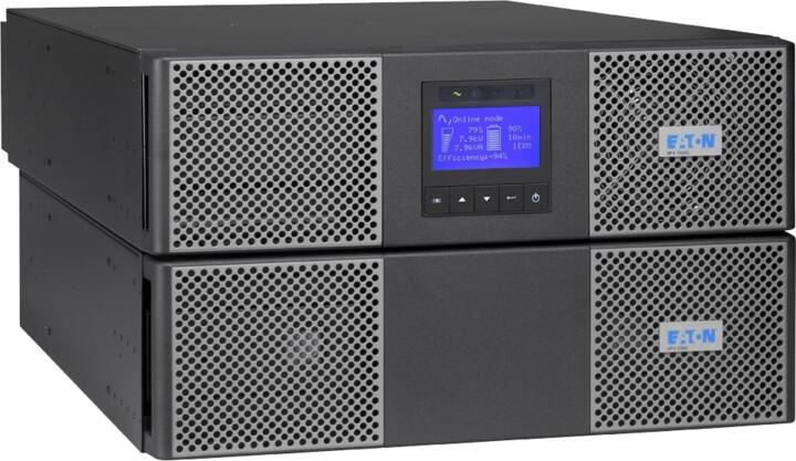 Eaton 9PX, 1:1 fáze, 11kVA, 11000i RT6U, HotSwap Netpack