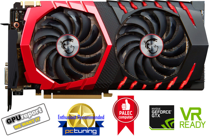 MSI GeForce GTX 1080 GAMING X 8G, 8GB GDDR5X