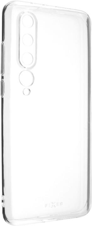 FIXED TPU gelové pouzdro pro Xiaomi Mi10, čirá