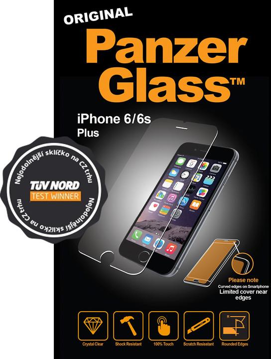 PanzerGlass Standard pro Apple iPhone 6/6s Plus, čiré