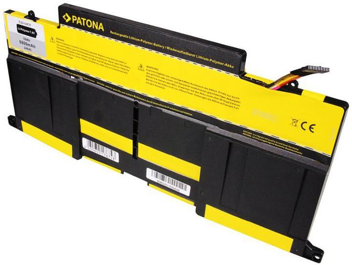 Patona baterie pro ntb ASUS UX31 6800mAh Li-pol 7,4V