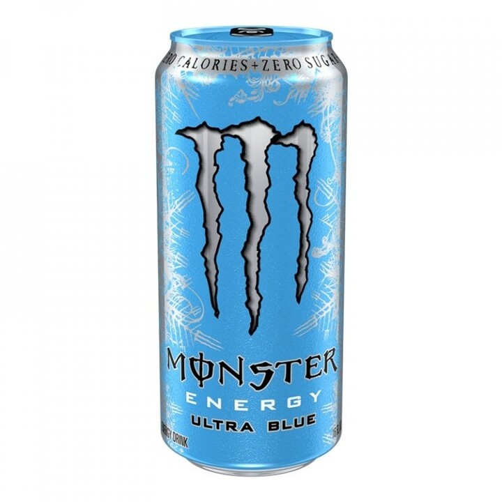 Monster Ultra Blue, energetický, 473 ml