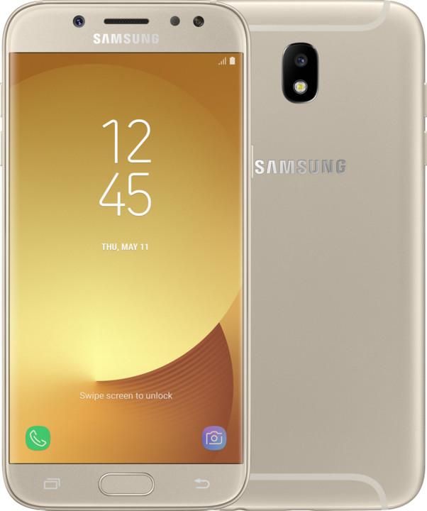 Samsung Galaxy J5 2017, Dual Sim, LTE, zlatá