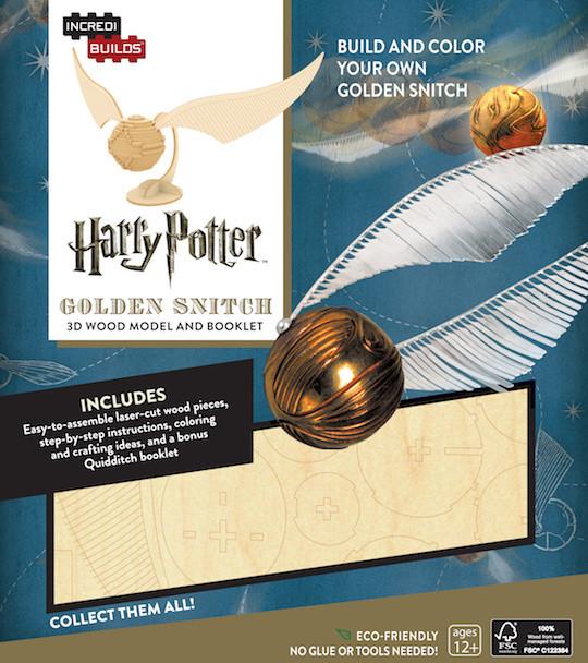 Stavebnice Harry Potter - Zlatonka (dřevěná)