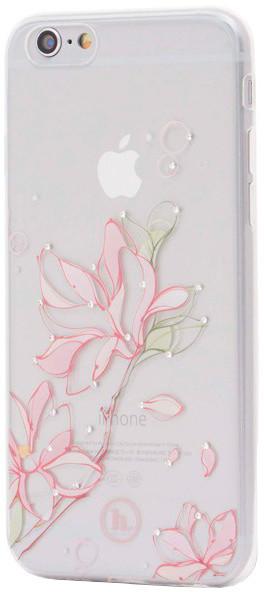 EPICO pružný plastový kryt pro iPhone 6/6S HOCO LILY - bílý transparentní