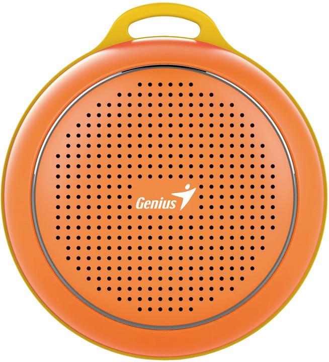 Genius SP-906BT, 3W, bluetooth 4.1, oranžová