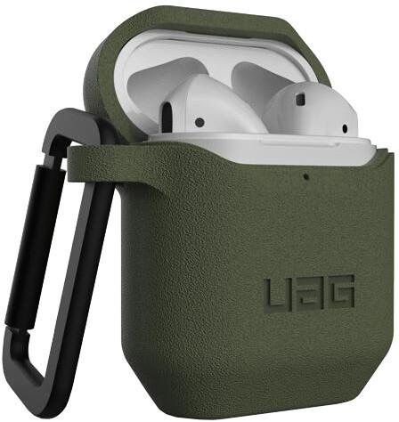 UAG silikonové pouzdro pro AirPods, olivová