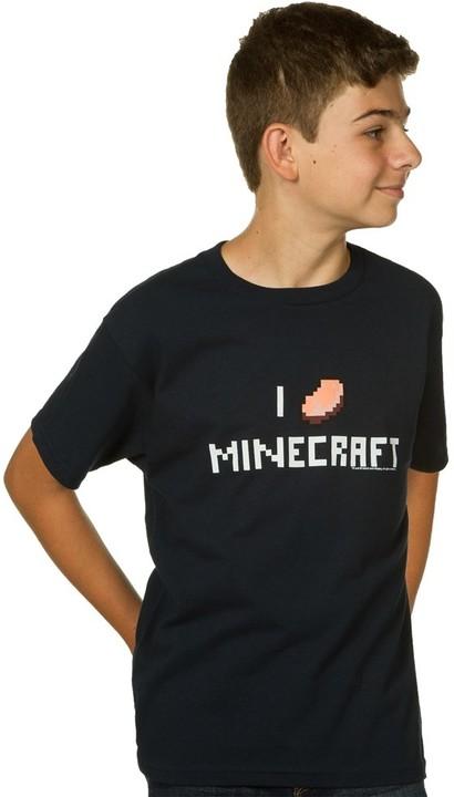 Tričko Minecraft I Porkchop Minecraft, dětské (M)