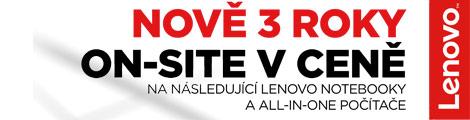 Lenovo 3letá záruka