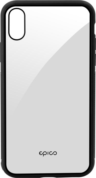 EPICO glass case pro iPhone XS Max transparentní/černý