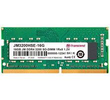Transcend 16GB DDR4 3200 CL22 SO-DIMM CL 22 - JM3200HSE-16G
