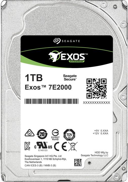 """Seagate Exos 7E2000, 2,5"""" - 1TB"""