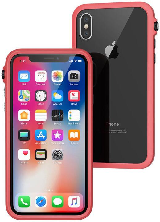 Catalyst Impact Protection case pro iPhone X, korálová