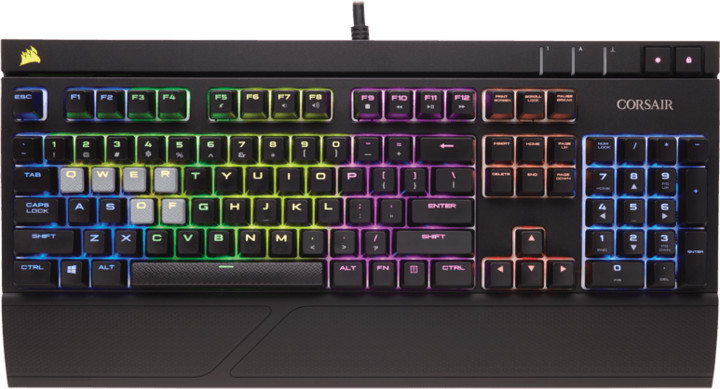 Corsair Gaming STRAFE RGB LED + Cherry MX RED, UK