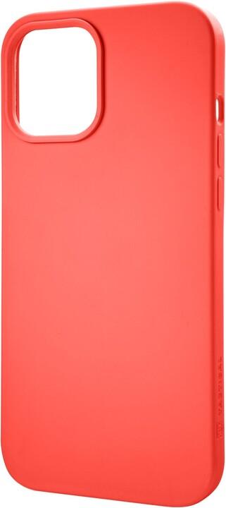 "Tactical silikonový kryt Velvet Smoothie pro iPhone 12 Mini (5.4""), oranžová"