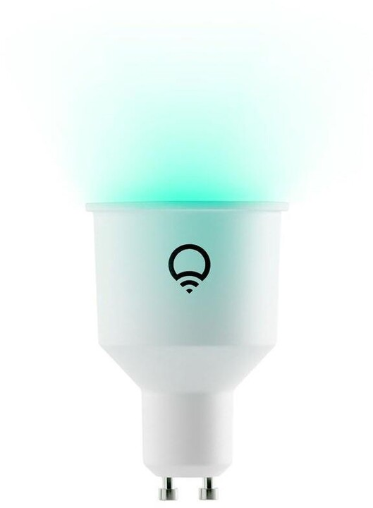 LIFX Colour and White GU10 Wi-Fi Smart LED Light Bulb