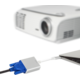 Moshi USB-C to VGA Adapter, stříbrná