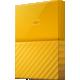 WD My Passport - 2TB, žlutá  + Kalkulačka Sharp SH-EL531THGY v hodnotě 399 Kč