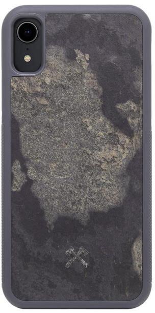 Woodcessories ochranný kryt TPU Bumper Stone pro iPhone Xr, šedá