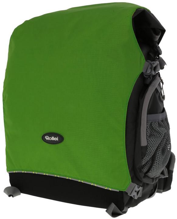 Rollei batoh na fototechniku Canyon M 25 L Forest, šedá/zelená