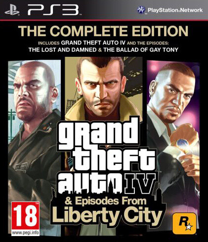 Grand Theft Auto IV Complete (PS3)
