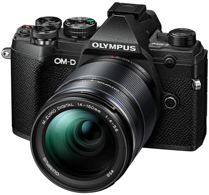 Olympus E-M5 Mark III + 14-150mm II, černá/černá