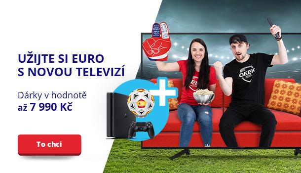 Užijte si Euro s novou televizí
