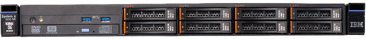 Lenovo System x3250 M5, E3-1220v3/4GB/3.5in SATA/300W